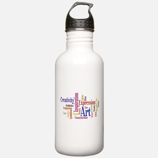 Artist Creative Inspiration Water Bottle