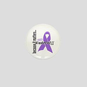 Hodgkin's Lymphoma Awareness Mini Button
