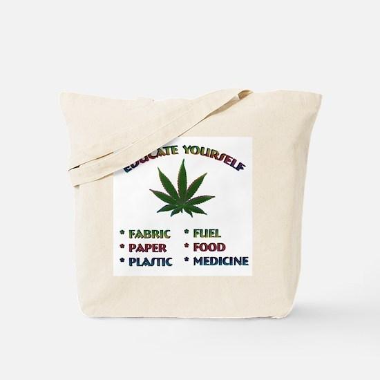 Marijuana Education - Tote Bag