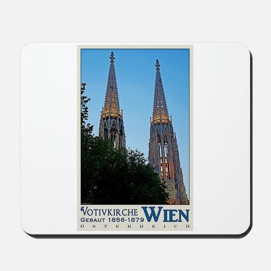 Vienna Votivkirche Mousepad