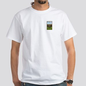 County Donegal White T-Shirt