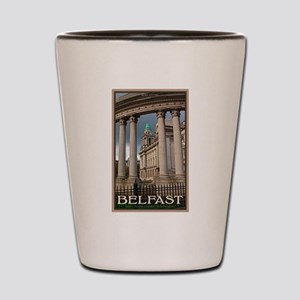 Belfast City Hall Shot Glass