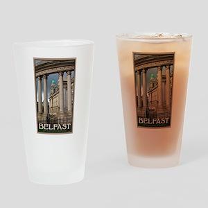 Belfast City Hall Pint Glass