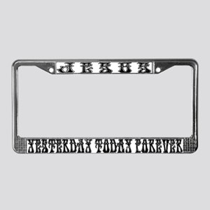 Jesus Is The Same License Plate Frame