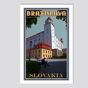 Bratislava Castle Postcards (Package of 8)