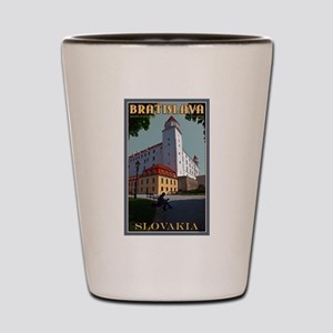 Bratislava Castle Shot Glass