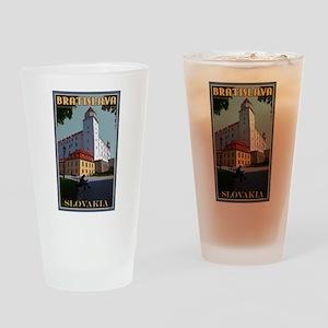 Bratislava Castle Pint Glass