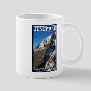 Helo over the Jungfraujoch Mug