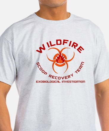 Andromeda Strain Wildfire T-Shirt (Colour Choice)