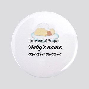 "Angel Baby 3.5"" Button"
