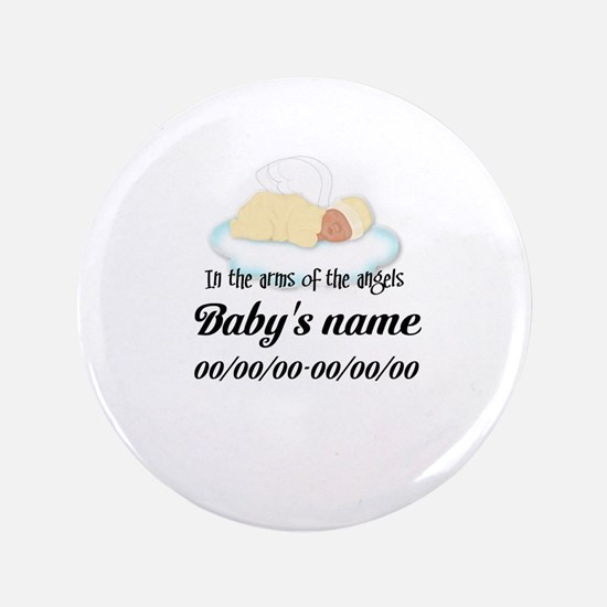 """Angel Baby 3.5"""" Button"""