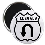 Illegals Turn-Around Magnet