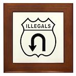 Illegals Turn-Around Framed Tile