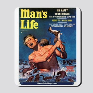 """MAN'S LIFE - """"Weasels Ripped Mousepad"""