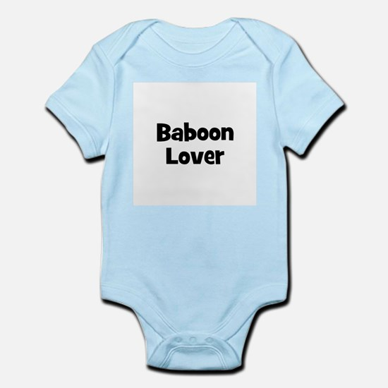 Baboon Lover Infant Creeper