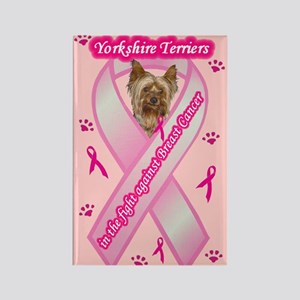 Yorkie (PuppyCut) Rectangle Magnet