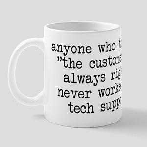 Customer == Wrong Mug