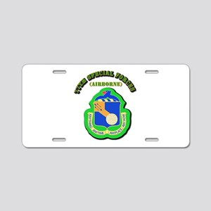 SOF - 77th Special Forces Aluminum License Plate