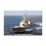 USS CURTIS WILBUR Mini Poster Print