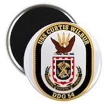 USS CURTIS WILBUR Magnet