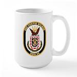 USS CURTIS WILBUR Large Mug