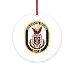 USS CURTIS WILBUR Ornament (Round)
