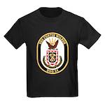 USS CURTIS WILBUR Kids Dark T-Shirt