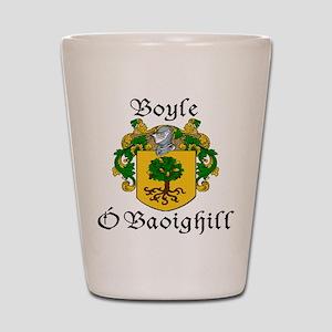 Boyle in Irish/English Shot Glass
