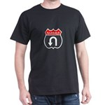 Illegals U TurnAround Black T-Shirt