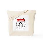 Illegals U TurnAround Tote Bag