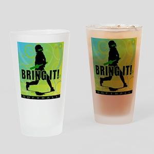 2011 Softball 102 Pint Glass