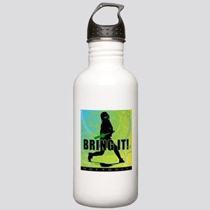 2011 Softball 102 Stainless Water Bottle 1.0L