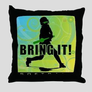 2011 Softball 102 Throw Pillow