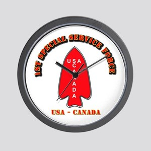 SOF - 1st Special Service Force - USA - Canada Wal