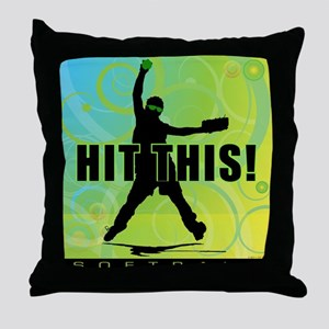 2011 Softball 96 Throw Pillow