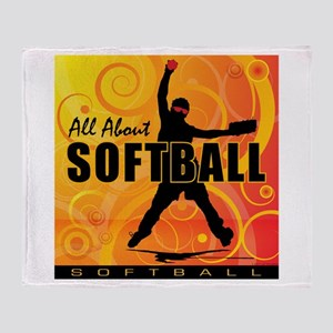 2011 Softball 90 Throw Blanket