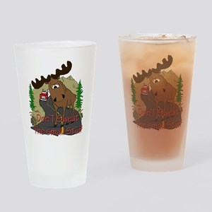 Moose humor Pint Glass