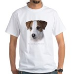 Parson Jack Russell White T-Shirt