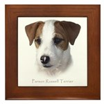 Parson Jack Russell Framed Tile