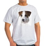 Parson Jack Russell Ash Grey T-Shirt