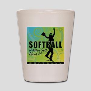 2011 Softball 84 Shot Glass