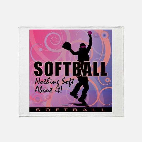 2011 Softball 82 Throw Blanket