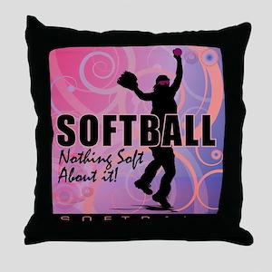 2011 Softball 82 Throw Pillow