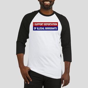 Support Deportation Baseball Jersey