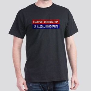 Support Deportation Dark T-Shirt