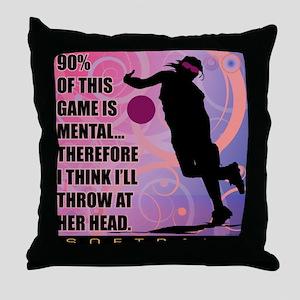 2011 Softball 71 Throw Pillow
