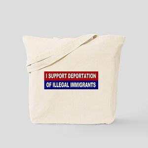 Support Deportation Tote Bag