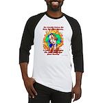 Global Warming Hippie Baseball Jersey