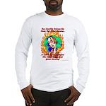 Global Warming Hippie Long Sleeve T-Shirt