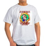 Global Warming Hippie Ash Grey T-Shirt